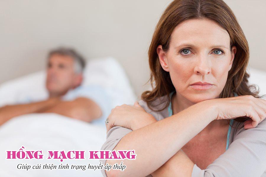 Huyết áp thấp gây giảm ham muốn ở nữ giới